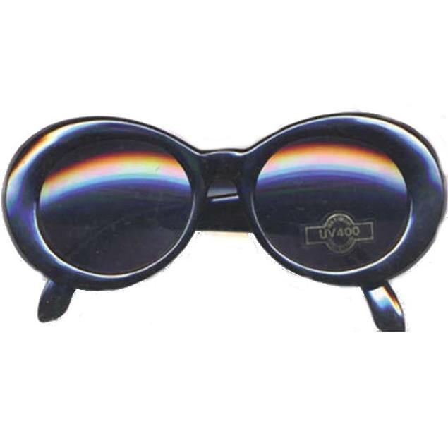 Kurt Cobain Black Round Sunglasses