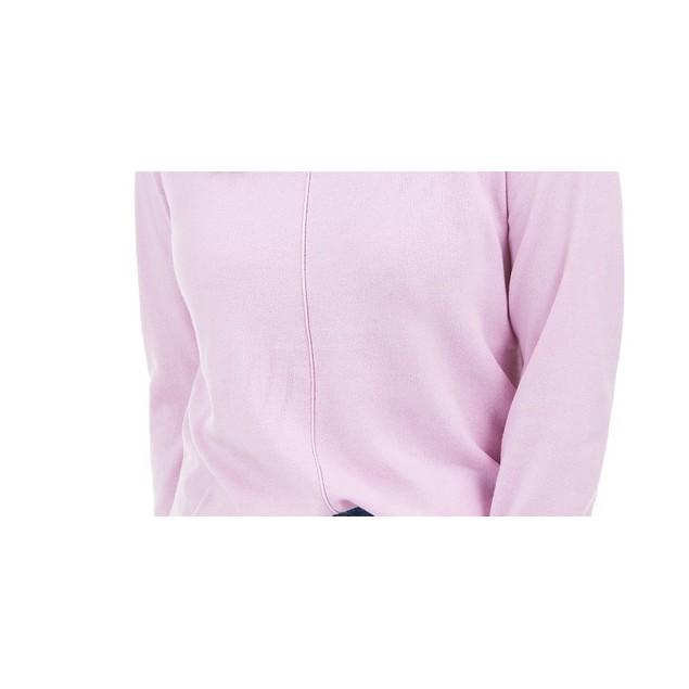 Karen Scott Women's Crewneck Long-Sleeve Sweater Purple Size X-Small
