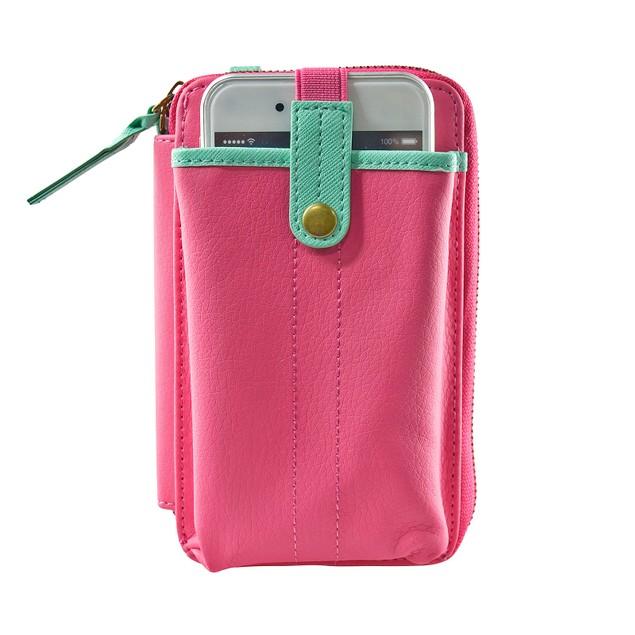Navor Phone Wristlet Convertible Wallet Case Bag Purse with Shoulder Strap