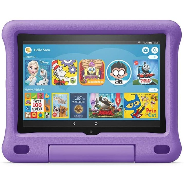 "Amazon Fire HD 8 Kids Edition tablet, 8"" HD display, 32 GB, Kid-Proof Case"