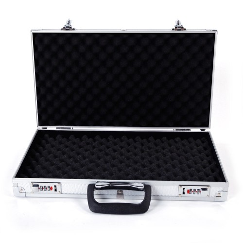 Aluminum Portable Password Tool Box 45*25*7.5cm