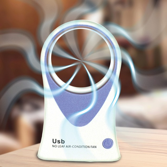 Dual Bladeless Cooling Fan