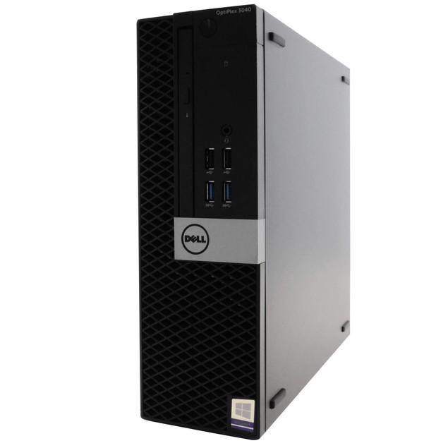 "Dell 3040 Desktop Intel i5 8GB 1TB HDD Windows 10 Home 24"" Monitor"