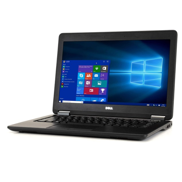 Dell Latitude E7250 Intel  i5 16GB 256GB SSD Windows 10 Pro WiFi PC