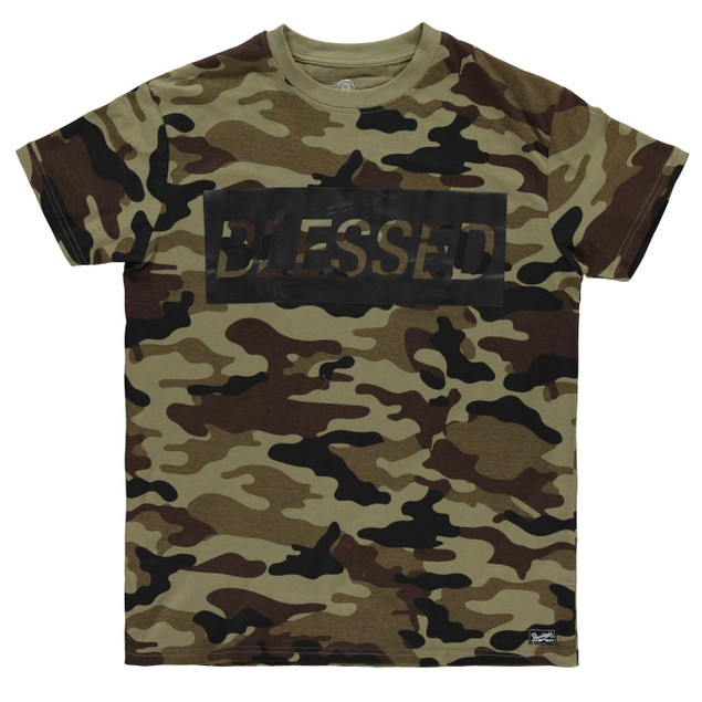 Brooklyn's Best Men's All Over Print Camo T-Shirt 100% Cotton