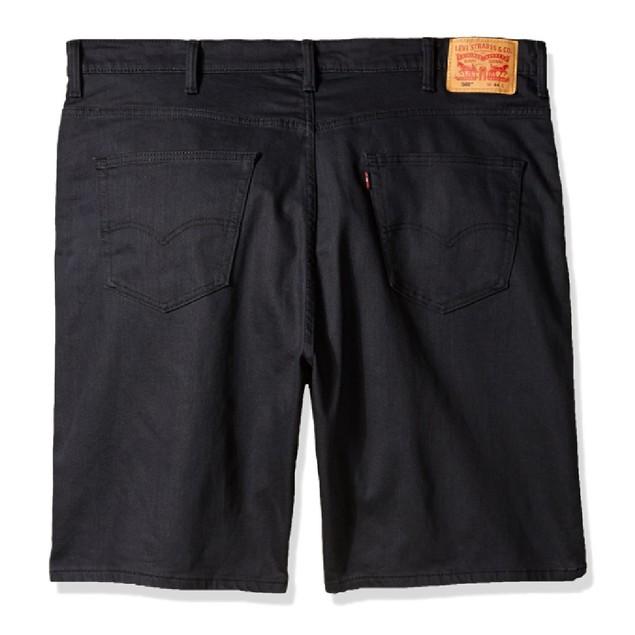 Levi's Men's 569 Loose Fit Short Black Size 30