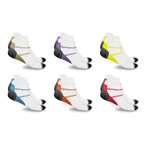 xFit Ankle-Length Unisex Compression Socks (6 Pairs)