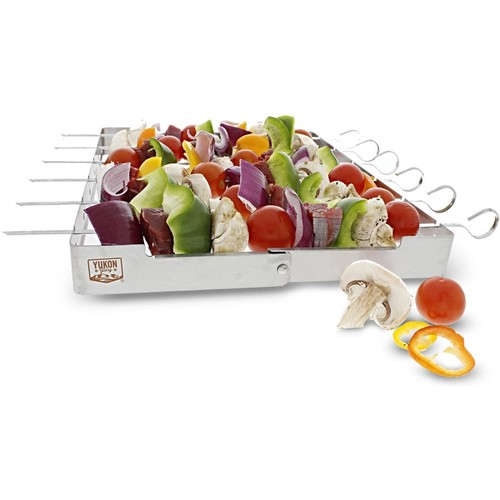 Yukon Glory BBQ Shish-Kabob Skewer Set