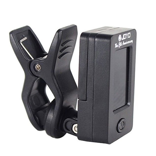 Chromatic Clip-On Tuner for Acoustic Instruments