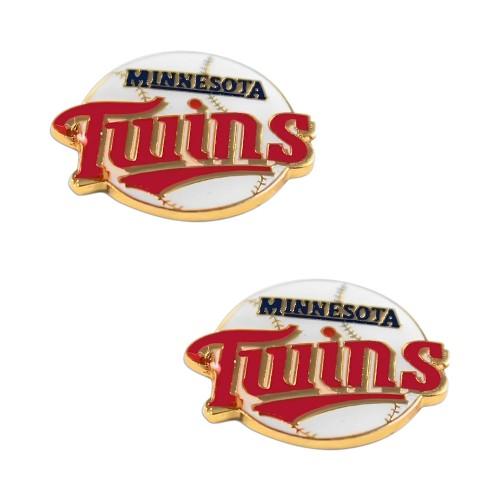 Minnesota Twins Post Stud Earring Set MLB Charm Gift