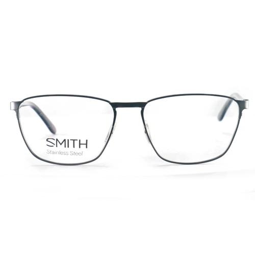 Smith Men's Eyeglasses Ralston V81 Dark Ruthenium 56 16 140 Stainless Steel