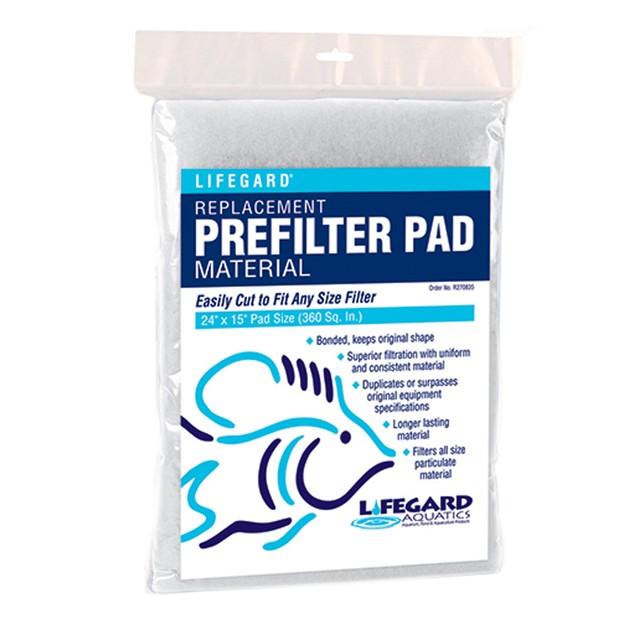 Lifegard Aquatics Prefilter & Felt Pad Combo