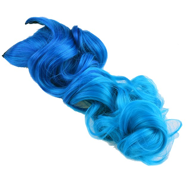 """26"""" ENSTYLE SUPREME NEON TANGLE CURLY 100% HUMAN COLOR HAIR EXTENSION"""