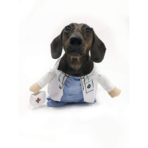 Midlee Fake Doctor Arms Costume for Small Dogs (Small)
