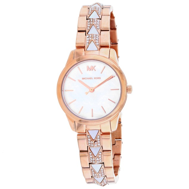 Michael Kors Women's Runway White Dial Watch - MK6674