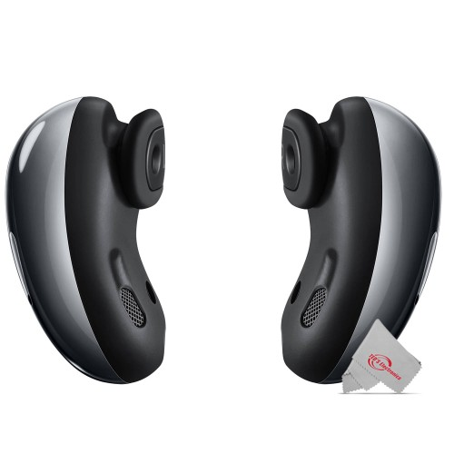 Samsung Galaxy Buds Live Noise-Canceling True Wireless Earbud Headphones (Mystic Black)