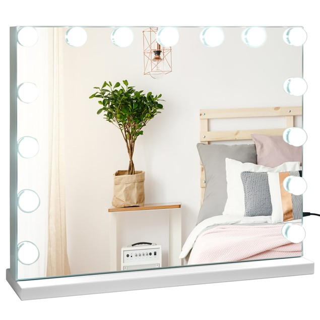 Hollywood Vanity Bluetooth Lighted Mirror Touch Control