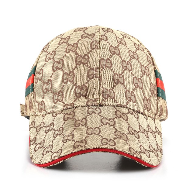 Unisex Striped Baseball Cap