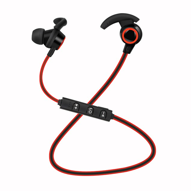 Bluetooth 4.1 Wireless Headphone Stereo Sports Earbuds In-Ear Headset