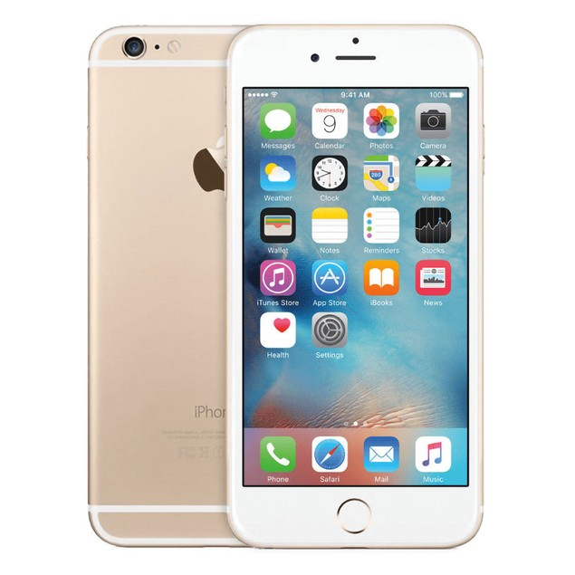 Apple iPhone 6 Plus 16GB Factory GSM Unlocked T-Mobile AT&T 4G LTE Smartphone - Gold - B Grade
