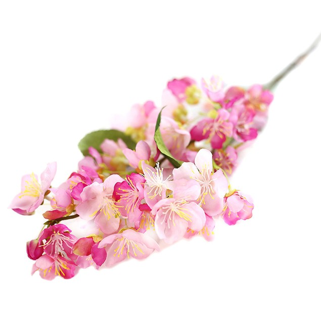 Artificial Fake Flowers Leaf Cherry Blossoms Floral Wedding Party Decor