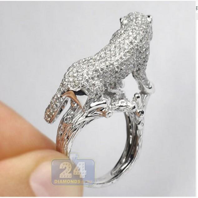 Fashion Women Wedding Ring New Trendy Zinc Alloy Size 6