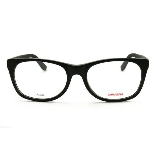 Carrera Women's Eyeglasses CA6652 KUN Black 53 18 140 Demo Lens