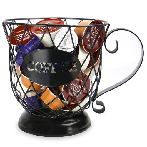 Coffee Mug Storage Basket | MandW