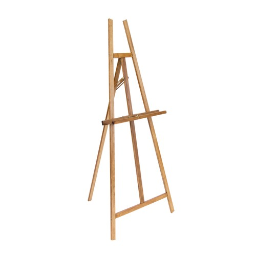 Offex Museum Easel - Natural