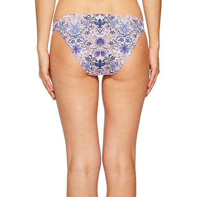 Letarte Women's Classic Bottom Blue Multi Swimsuit Bottoms SZ:  L