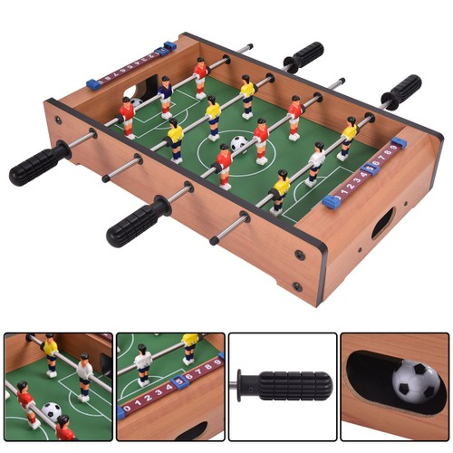 Costway 20'' Foosball Table Competition Game Soccer Arcade Sized Football S