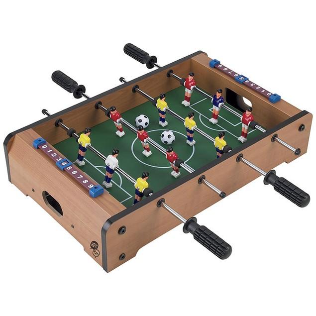 Tabletop Foosball Table- Portable Mini Table Football / Soccer Game Set