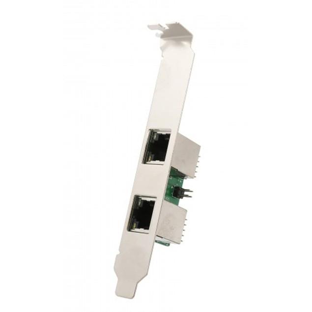 Mini PCI-Express 2-Port Gigabit Ethernet Card