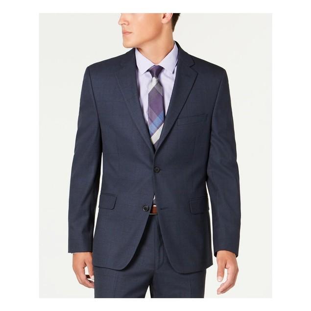 Alfani Men's Slim-Fit Performance Stretch Suit Separate Jacket Navy Size 44