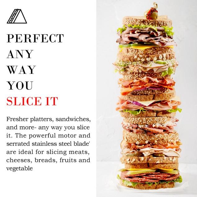 Costway 12'' Blade Commercial Meat Slicer Deli Meat Cheese Food Slicer Indu