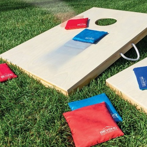 Beyond Outdoors Wooden Bean Bag Toss