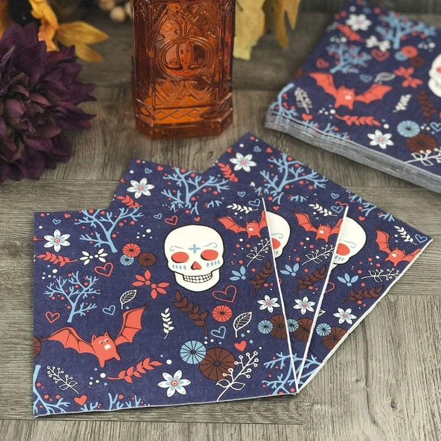 Dining Collection Halloween Lunch & Cocktail Napkins