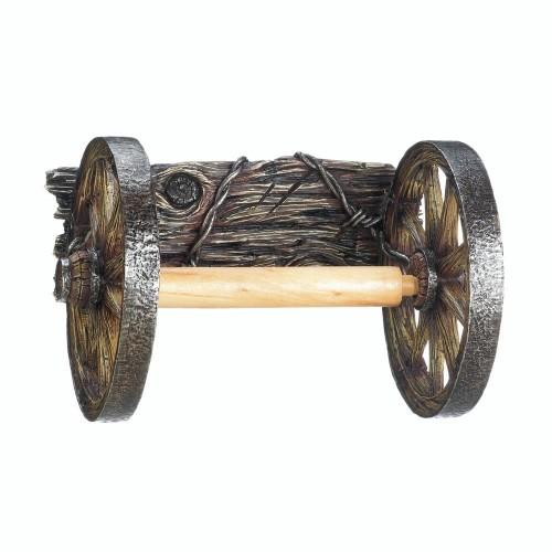 Accent Plus Wagon Wheel Toilet Paper Holder