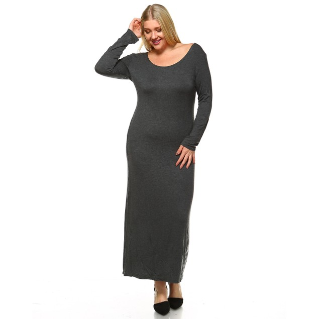 Penelope Maxi Dress - 7 Colors - Extended Sizes
