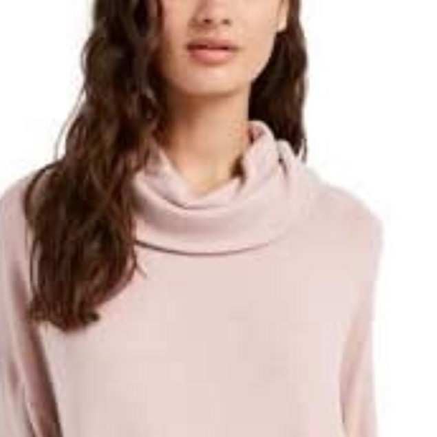 Hippie Rose Juniors' Women's Cozy Funnel-Neck Pullover PasGry Size Small