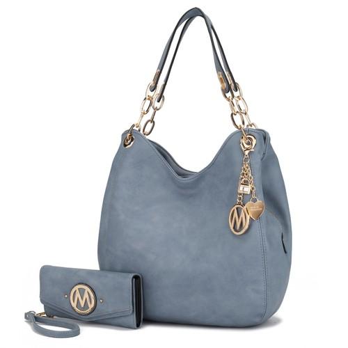 MKF Collection Ashley Hobo Shoulder Bag by Mia K
