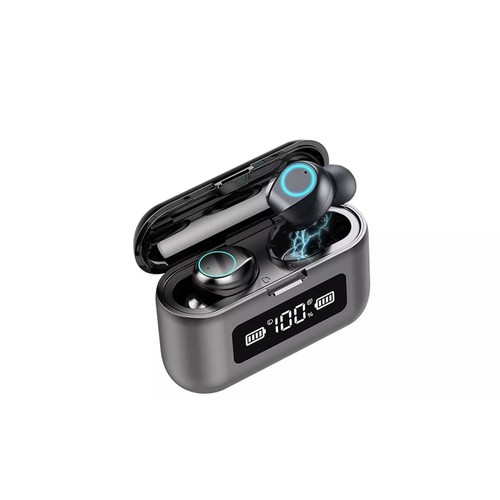 Bluetooth 5.0 True Wireless Earbuds with Built in Mic