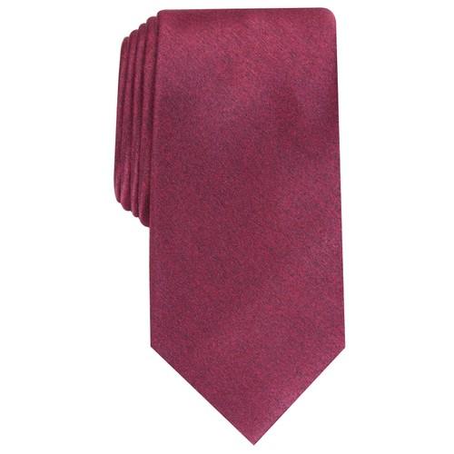 Perry Ellis Men's Vandorn Metallic Solid Tie Pink Size Regular