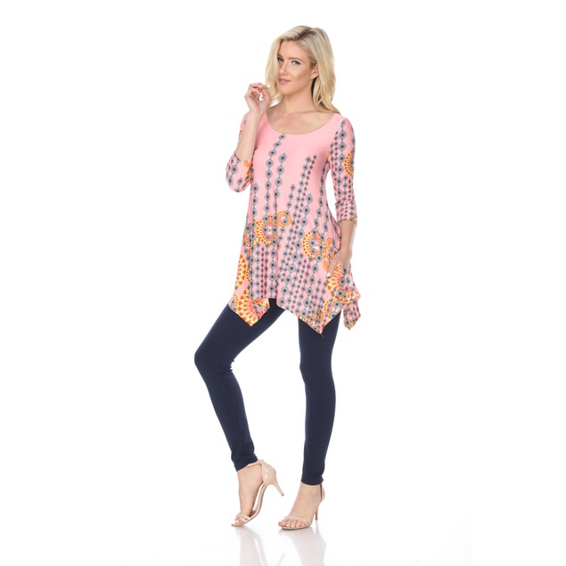 Rella Tunic Top - 7 Colors - Extended Sizes