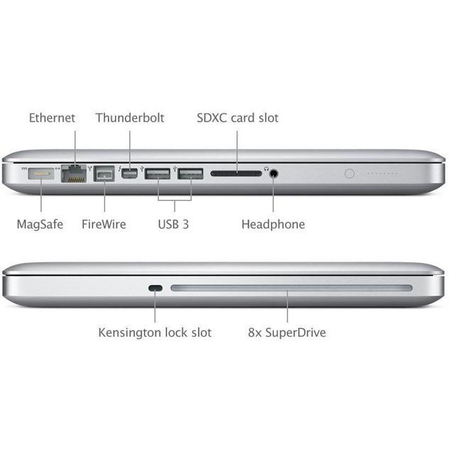 "Apple 13.3"" MacBook Pro MD101LL/A (Intel Core i5 2.5GHz, 4GB RAM, 500GB HDD)"
