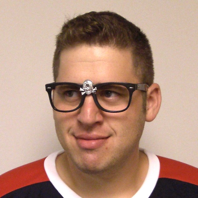 "Rick ""Wild Thing"" Vaughn Skull Glasses"