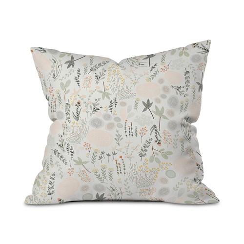 "Deny Designs Iveta Abolina Floral Goodness Indoor 23 X 14 "" Throw Pillow,"