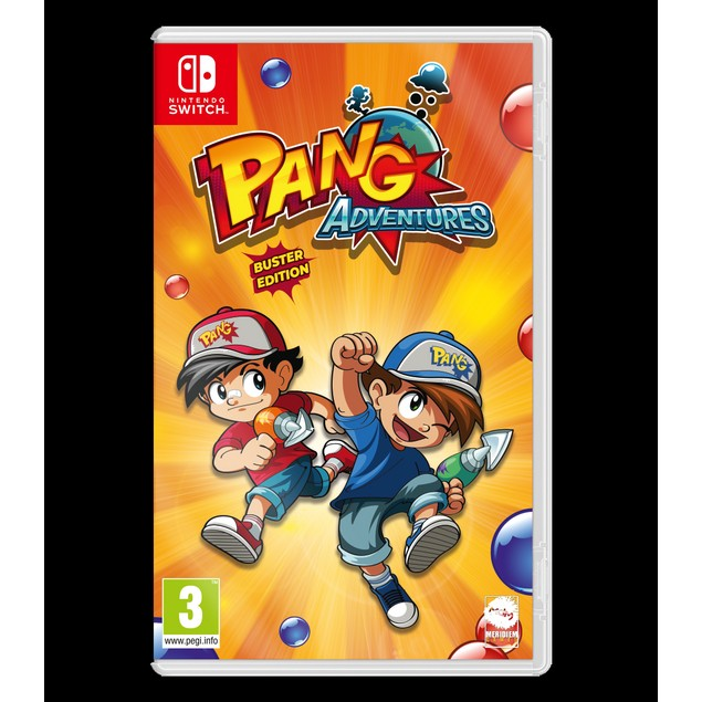 Pang Adventures Buster Edition Nintendo Switch Game