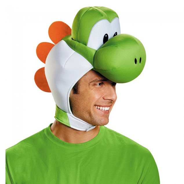 Yoshi Adult Headpiece Super Mario Bros. Costume Headwear Accessory
