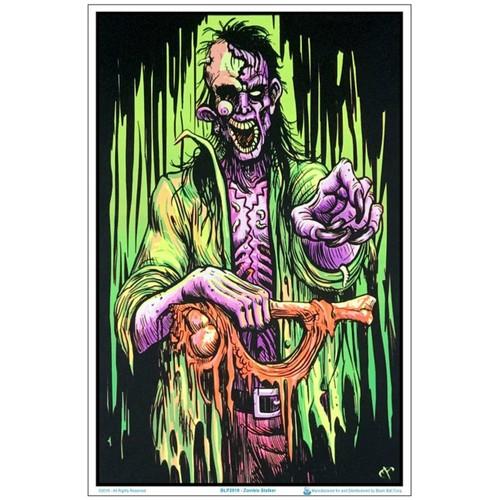 "Zombie Stalker Black Light 23"" X 35"" Poster"